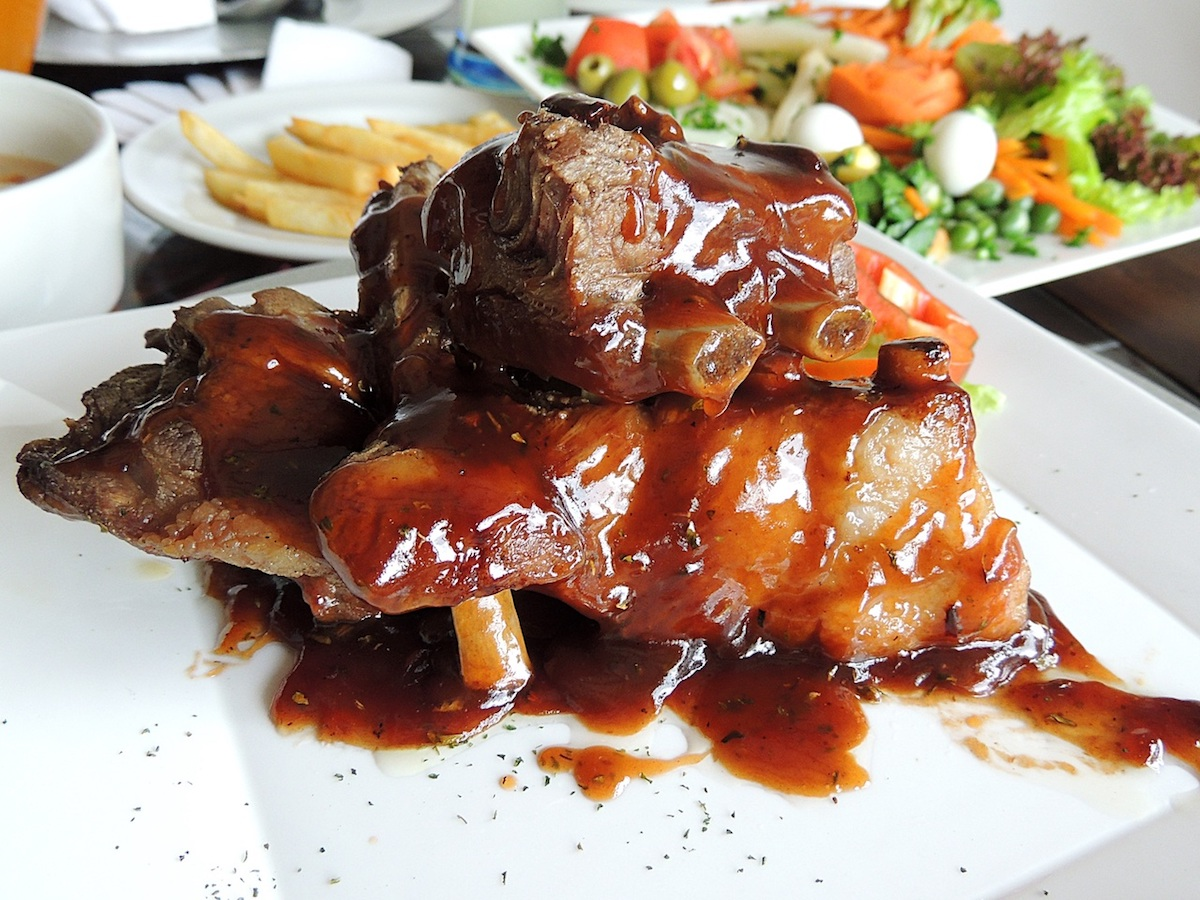 Barbecued beef - Chinese style